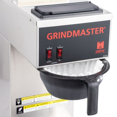 grindmaster cpo-2p-15a decanter coffee brewer control buttons