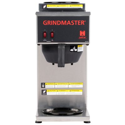grindmaster cpo-2p-15a decanter coffee brewer front view