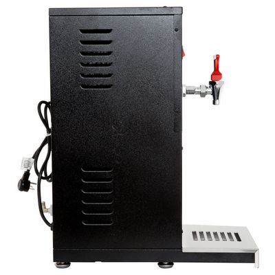 grindmaster hwd-2 automatic hot water dispenser side view