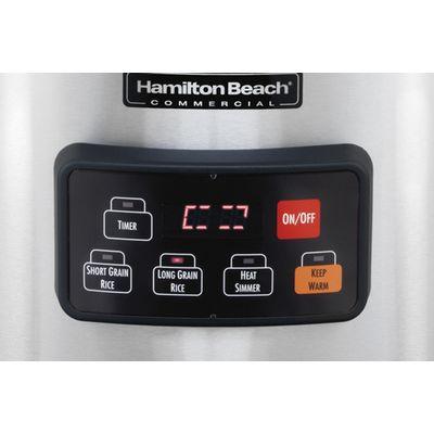 hamilton beach 37590 commercial rice cooker warmer control panel