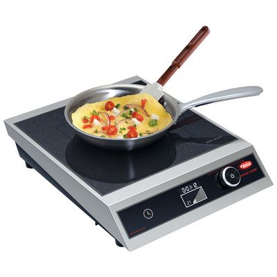hatco irng-hc1-18 commercial countertop induction cooker in use 1