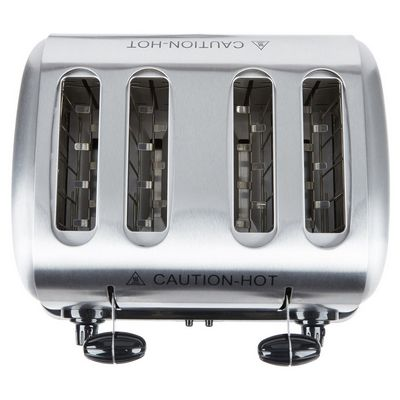 hatco tpt-208 commercial pop up toaster top view