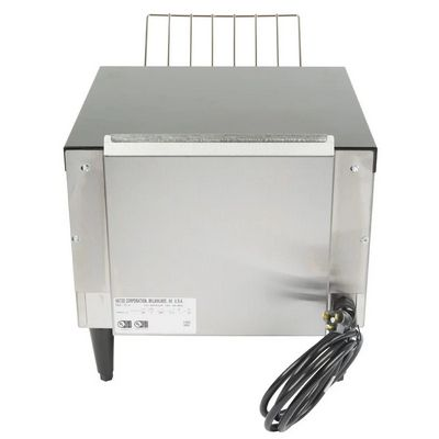 hatco tq-10 conveyor toaster back view