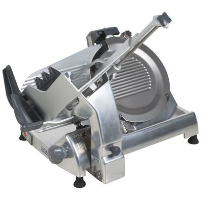 hobart hs6n-1 manual meat slicer side view