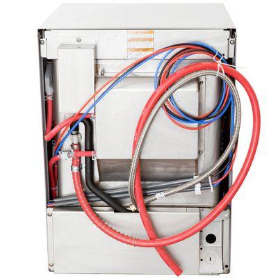 hobart lxer-2 undercounter dishwasher back view