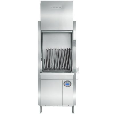 hobart pw10er utensil washer door open