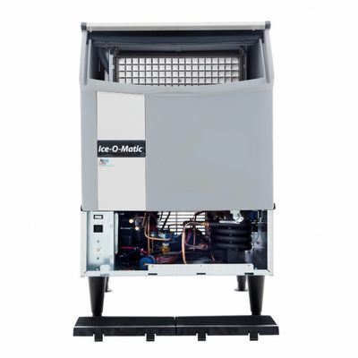 ice-o-matic iceu220ha undercounter ice cube machine open