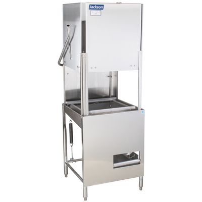 jackson conserver-xl-e door type dishwasher left side view