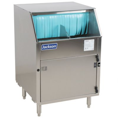 jackson delta-1200 rotary glasswasher left side view