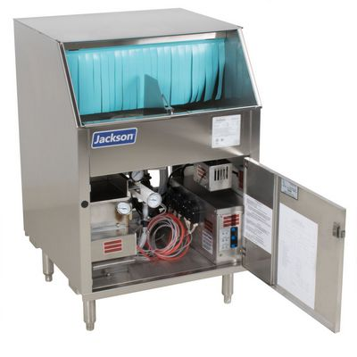 jackson delta-1200 rotary glasswasher low water protector