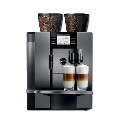 jura giga-x7 automatic espresso machine front view