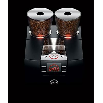 jura giga-x8c automatic espresso machine bean hoppers