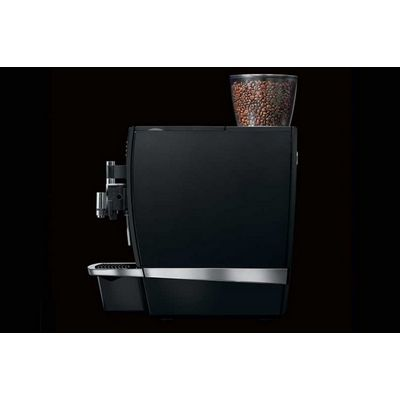 jura giga-x8c automatic espresso machine side view