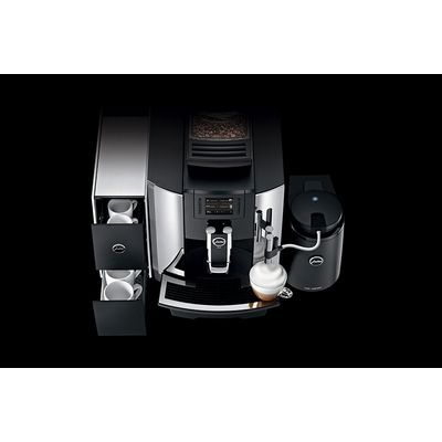 jura we8 automatic espresso machine top view