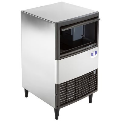manitowoc qm-45a undercounter ice cube machine door open