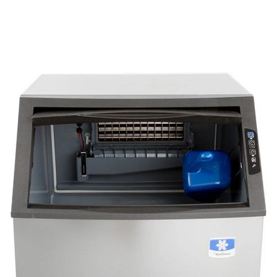 manitowoc ud-140a undercounter ice cube machine door open