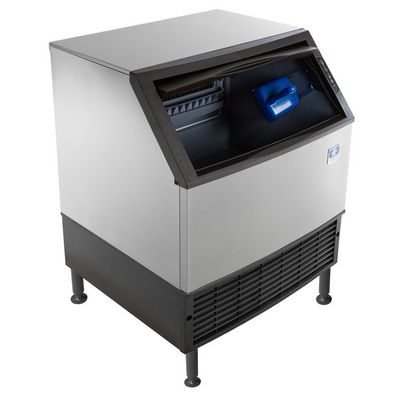 manitowoc ud-310a undercounter ice cube machine door open