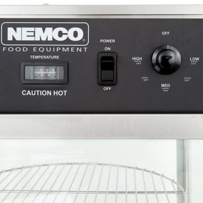 nemco 6452 commercial pizza warmer control panel
