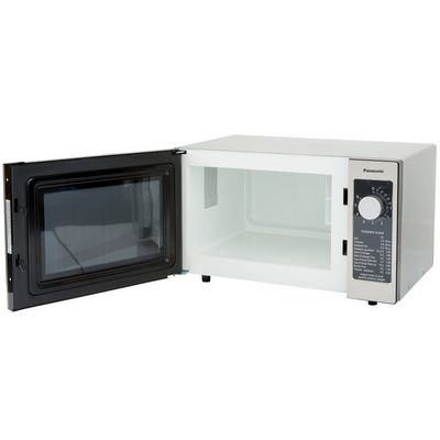 panasonic ne-1025c moderate duty commercial microwave oven door open