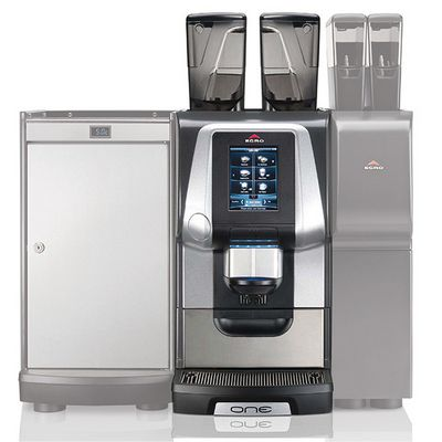 rancilio egro one espresso machine with accessories