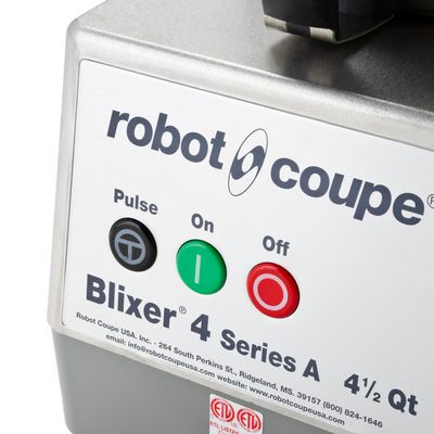 robot coupe blixer 4 food processor control buttons