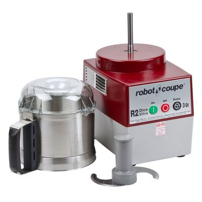 robot coupe r2n-ultra food processor stainless steel bowl bowl opened
