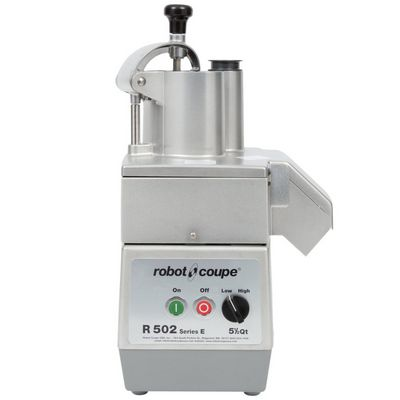 robot coupe r502 food processor stainless steel bowl 2hoppers continuous feed head