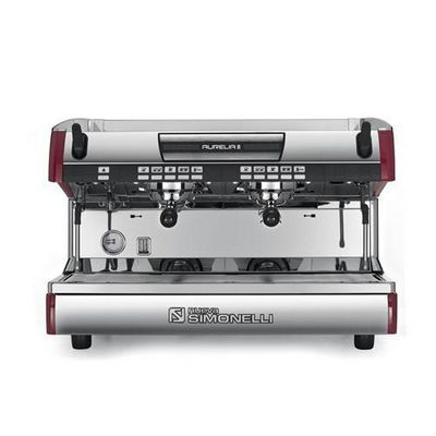 simonelli aurelia-ii-2gr espresso machine front view