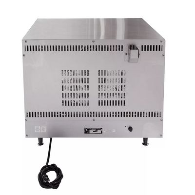 star ccoh-3 half size countertop electric convection oven back view