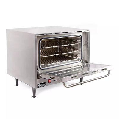 star ccoh-3 half size countertop electric convection oven door open