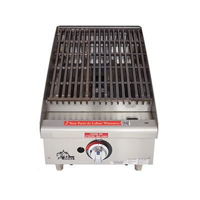 star max 6115rcbf commercial gas charbroiler radiant
