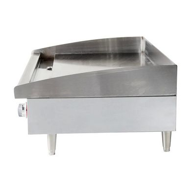 star max 636mf commercial gas griddle side view