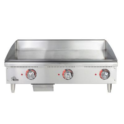 star max 648mf commercial gas griddle front view