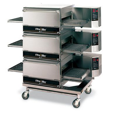 star max um1833a electric conveyor oven triple