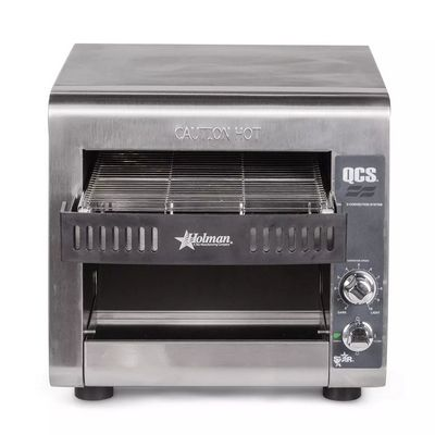 star qcs1-350 conveyor toaster front view