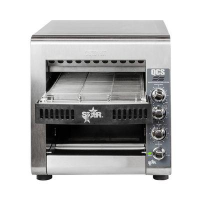 star qcs2-800 conveyor toaster front view