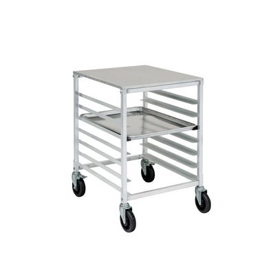 thorinox drack-0718-alunb open bun pan rack with pans