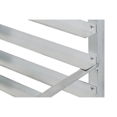 thorinox drack-1218-aluwb open bun pan rack connectors