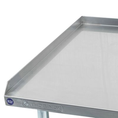 thorinox dstand-2436-gs equipment stand shelves front