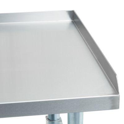 thorinox dstand-2436-gs equipment stand shelves top