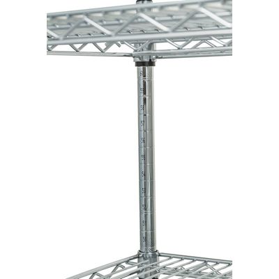 thorinox tcfs-1830 chrome wire shelving welding