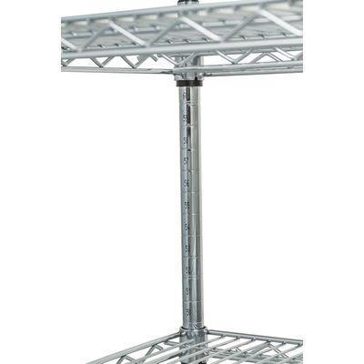 thorinox tcfs-2436 chrome wire shelving welding