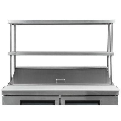 thorinox tdos-1248-ss double over shelf closed cropped
