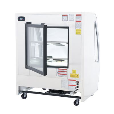 torrey tem-100 refrigerated deli merchandiser back view
