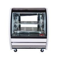 torrey tem-100 refrigerated deli merchandiser front view