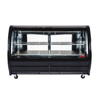 torrey tem-200 refrigerated deli merchandiser front view