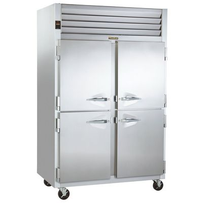 traulsen g24300 hot food holding cabinet left side vide