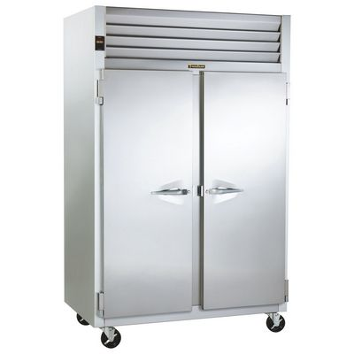 traulsen g24310 hot food holding cabinet left side vide