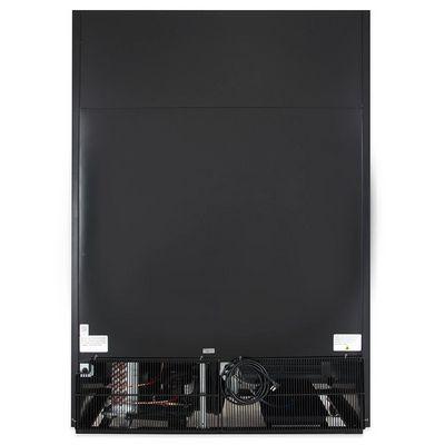 true gdm-47-ld glass merchandising refrigerator back view
