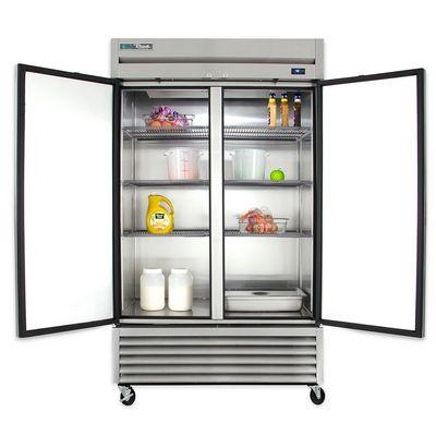 true t-43-hc reach in refrigerator door open